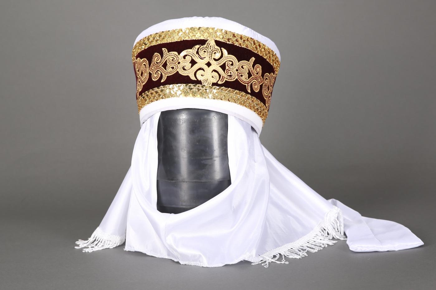 Кавказский женский головной убор как сшить 8